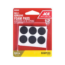 Cabinet Door Foam Bumper Pads by Ace 1 2in Round Non Skid Foam Pads Self Adhesive Pads