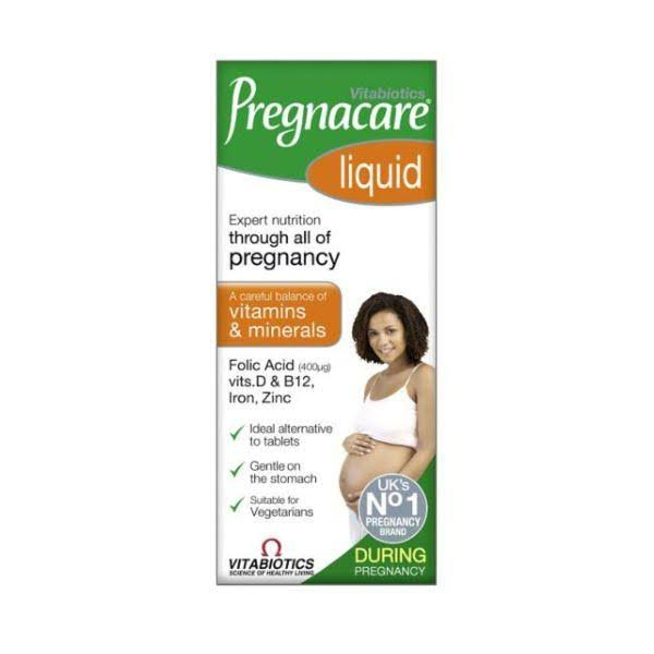 Vitabiotics Pregnacare During Pregnancy Liquid - 200ml