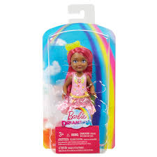 Barbie Dreamtopia Rainbow Cove Princess Doll Horse Carriage