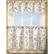 Heritage Blue Curtains Walmart by Kitchen Tier Curtains U2013 Teawing Co