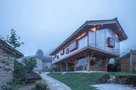 100 Mountain House Designs Gallery Of In Mist Shulin Architectural Design 10
