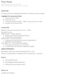 Sample Teen Resume Example Job Great Objectives Of A