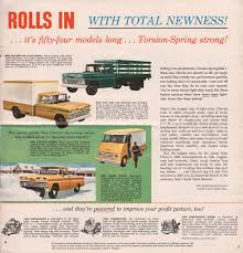 GM 1960 Chevy Truck Sales Brochure