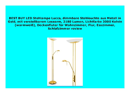 sell led stehle lucca dimmbare stehleuchte aus metall in