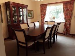 8 SEATER DINING ROOM SUITE SERVER FOR SALE