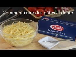 comment cuire des pâtes al dente italie cuisineaz
