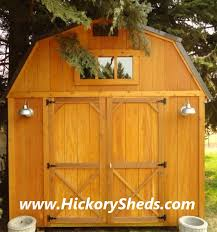 Wood Sheds Idaho Falls by Old Hickory Sheds Montana Buildings Barns Cabins Garage Storage Mt