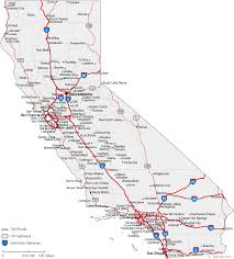 Map Of California Cities