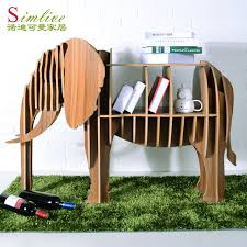 Elephant Bookcase Shelves Shelving Scandinavian Furniture Creative Floor Display Shelf Ikea Clothing Store