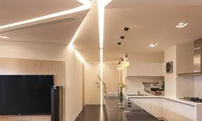 plafond de cuisine design dalle led salle de bain trendy miroir led evan with dalle led salle