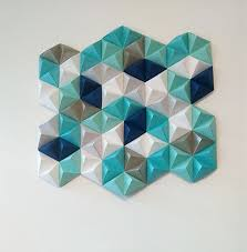 16 Wall Decoration With Colour Paper DIY Easy Folded Art