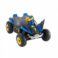 100 Monster Truck Batman Power Wheels 12V Battery Toy RideOn Dune Racer Shop Your