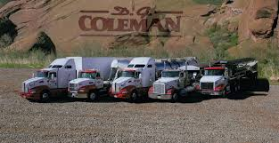 About Us | D.G. Coleman, Inc. Usa Truck First Quarter Revenues And Net Rise Fleet News Daily Our Services Graham Trucking Inc The Intertional Prostar With Allison Tc10 Transmission About Us Shaw Murfreesboro Tn Rays Photos 23 Days Ago Managdispatcher Job At Decker Line Class Lewisport Ky Top 10 Companies In Kansas Look Premium Kenworth Icon 900 An Homage To Classic W900l Transport Since 1989 Media