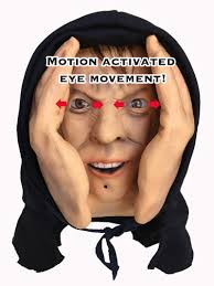 Motion Activated Halloween Decorations by Animated Eyes Scary Peeper Halloween Prank Prop Scarypeeper