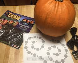 Pumpkin Masters Patterns 2015 by Crop Circle And Alien Pumpkins My Mom Made That