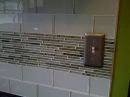 Vapor Light Blue Glass Subway Tile by Kitchen Grey And White Makeover Gray Backsplash Interior Vapor
