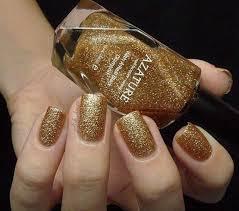 Gold Nail Polish Design Gallery Nail Art and Nail Design Ideas