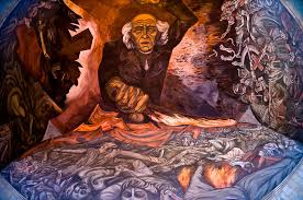 mural by jose clemente orozco featuring miguel hidalgo leader of
