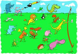 Animal Egg & Spoon race