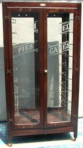 Bakery Pie And Cake Display Case BRASS LANTERN ANTIQUES