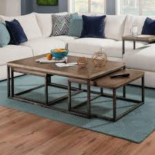 100 Living Room Table Modern Simmons Upholstery Chandler Contemporary Industrial Nesting Coffee