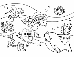 Awesome Beach Coloring Pages Beautiful