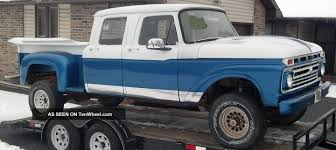 1965 Crew Cab F - 250 Classic Pickup Truck Step Side Ford 4 Door ...