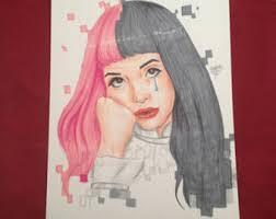 ORIGINAL Melanie Martinez Drawing Art