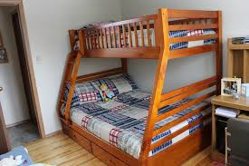 lovable twin over double bunk bed plans and best 25 queen bunk