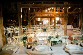 The Historic Barn At Blenheim Just Before Reception