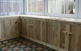 meuble cuisine palette enchanteur fabriquer meuble cuisine avec faire ses meuble en palette