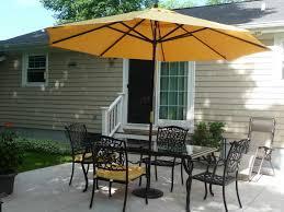 Sunbrella Patio Umbrellas Amazon by Patio Inspiring Patio Furniture Sets With Umbrella Patio Table