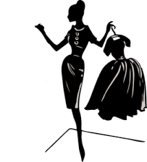 Lady With Dress Clip Art
