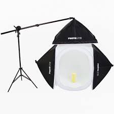 100 Studio Tent 4040cm Photo Shooting Light SoftboxNew Box Kit 4 Backdrops