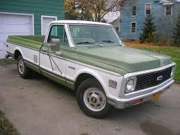 100 3 4 Ton Chevy Trucks For Sale 1972 Chevrolet Cheyenne 20 Rust Free Survivor Ton Pickup Not