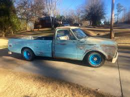 1967 C10 Patina Blue Wheels   My '67 Chevy C10 Rat Rod   Pinterest 6772 Chevy Truck Seat Cover Ricks Custom Upholstery 1967 C10 22 Inch Rims Truckin Magazine Are You Fast And Furious Enough To Buy This 67 383 Stroker Engine Chevrolet Ck 10 For Sale Classiccarscom Cc909965 1966 Short Bed C14 V8 66 65 64 Hot Rod Rat Billet Alinum 5 Vane Ac Vents With Black Bezel 72 Interior My Stepside Ricekiller White Trucks Fresh Snow On 24rims In Eccentric Mike Partykas Slamd Mag The 1970 Page What Problems To Look In Chevygmc Pickups