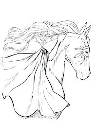 Realistic Horse Coloring Pages Mustang Printable Kids Plus