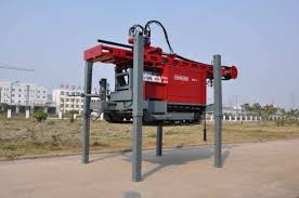 100 Truck Well DTH Drilling Water Drilling Rig Mounted On With Maximum
