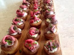 m and s canapes roast beef horseradish canapés baking fanatic
