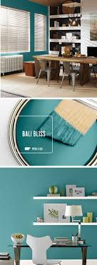 Yoga Room Bali Bliss Is The Perfect Teal Tone To Help Incorporate A Chic And Eclectic Feel Your Home Try Pairing This Unique Paint Shade With Neutral