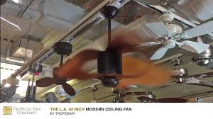 Exhale Ceiling Fan India by The L A 44 Inch Modern Ceiling Fan By Troposair Youtube