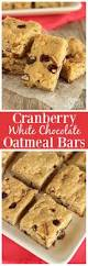 Pecan Pumpkin Bars Paula Deen by Cranberry White Chocolate Oatmeal Bars Diary Of A Recipe Collector