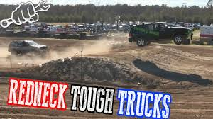 REDNECK TOUGH TRUCK RACING GONE WILD - YouTube