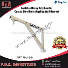 Heavy Bag Ceiling Bracket by Foldable Punching Bag Stand Wall Bracket Mount Hanger Iron Hook