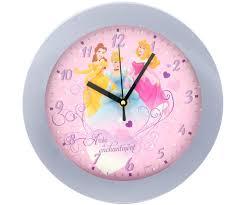 horloge chambre bébé horloge murale disney princesse cendrillon chambre enfant 5677