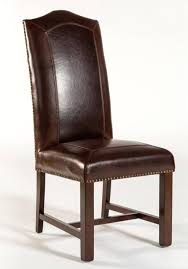Rustic Leather Dining Chairs – Johnandjack.co