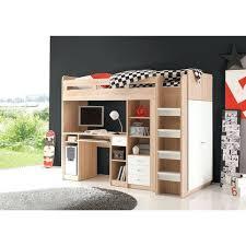 lit mezzanine 1 place avec bureau lit sureleve avec bureau ensemble lit mezzanine avec bureau
