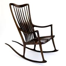 Sam Maloof Rocking Chair Class one of sam maloof u0027s famous rocking chairs wood works