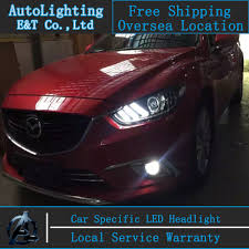 car styling for mazda 6 headlights 2014 2015 mazda6 led headlight