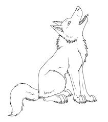 Dessins Gratuits à Colorier Coloriage Loup à Imprimer
